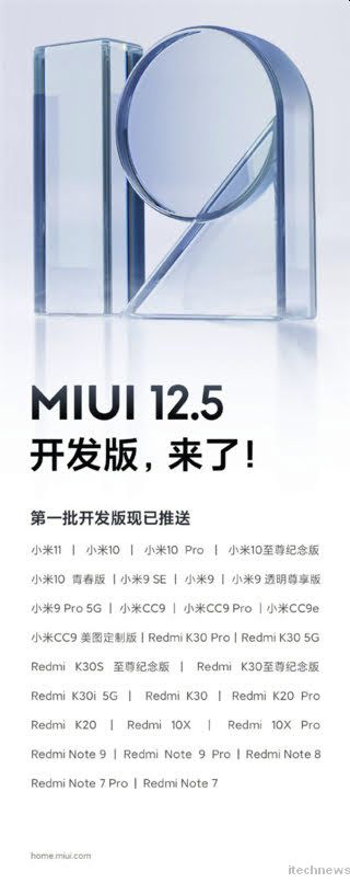 Xiaomi has unveiled an official list of 27 devices that will get MIUI 12.5.  Have you seen if you will get the new version?