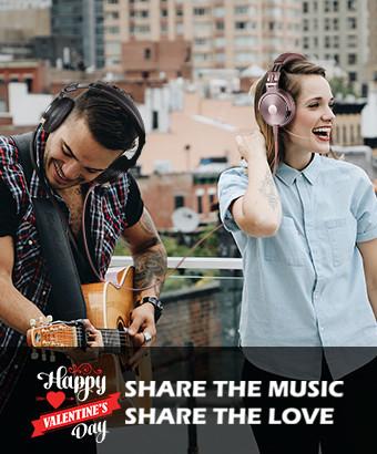 Γιορτινές προσφορές με φοβερά earphones από την OneOdio για την γιορτή των ερωτευμένων!